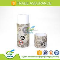 custom kraft paper can for perfume dropper bottle