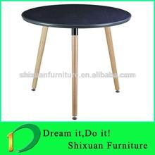 durable black wood legs massage table