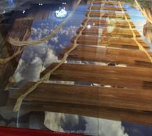 3D 2015 hot sale 800x800mm glaze polished Tile dark emperador Tile 8B8046