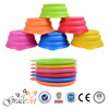 [Grace Pet] Travel Pet Bowl for Food & Water - Folding Collapsible