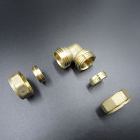 15mm Copper Pipe Fittings Brass Compression Elbow Fitting