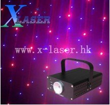 Mini club party red voilet color laser light show