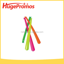 Colorful Printed Plastic Shoe Horns