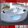 bathtub shower glass, massage bathtub led air jet, clear bathtub
