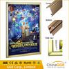 Slim aluminum light frame LED snap light box for indoor advertising