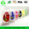 2014 chegada nova e elegante forma de ovo de silicone alto-falante para iphone4 4s