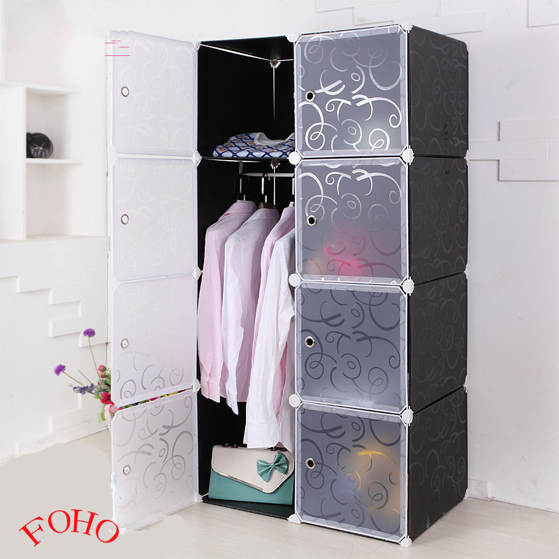 2014 caliente venta de pl stico negro armario para la ropa armarios gabinetes roperos - Armarios de plastico para ropa ...