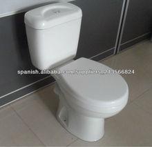 Económico China moderna Baño Dos WC pieza