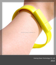 silicone usb wristband for promotional gifts