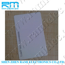 FM11RF08 chip 13.56mhz RFID contactless smart card/Ntag203 chip NFC Card from china supplier with four color printing