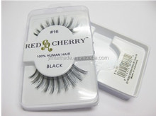 Red cherry eyelashes wholesale ,Handmade False Eyelashes,human hair red cherry eyelash extension