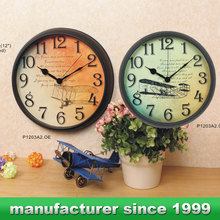Guangzhou quality products metal wall clock / antique wall clocks