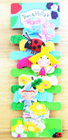 2015 new design Fashion kids animal hair bands, animal hair accessories for kids
