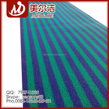 PVC DOUBLE STRIPE COIL MAT FASHION DESIGN