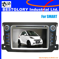 7 inch Car DVD Player with BT/DVD for SMART