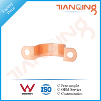 Factory price pipe fitting copper saddle pipe connection