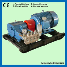 electric motor drive water pressure test pumps high pressure cleaning machine