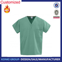 Fashion nurse Top , Cotton nurse uniform ,Fashionable nurse Uniform designs