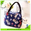 print pattern many colors latest styles ladies small handbag canvas