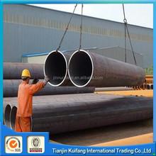 Black mild low carbon DN250 welded steel pipe