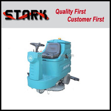 industrial battery type ride on auto floor cleaning machine