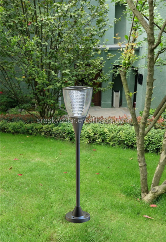 install aluminum decorative outdoor light cover post type