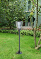 Install Aluminum Decorative Outdoor Light Cover Post Type Led Lamps