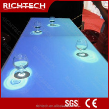 Night club led furniture interactive bar table with numerous attractive effects