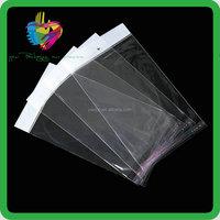 custom printed cellophane bags/cellophane bag with logo/poly bag with header