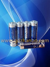 1.5V Alkaline LR6 AM-3 R-6 Battery