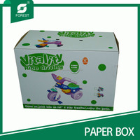 Top Quality Manufacturer Folding Paper Box For Toys