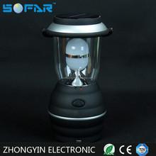 1 Lamp Tube Solar LED Lantern Camping Light Portable Hand Lamp With USB