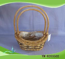 Flower Arranging Wicker Basket