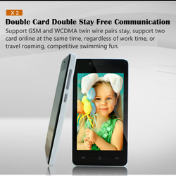 Dual sim 4.0 inch ultra slim android smart phone android non camera phone