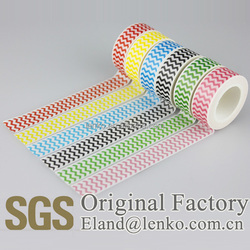 15mmx10m Waterproof Feature and Acrylic Adhesive rice paper tape, washi masking tape for crafts