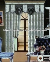 Royal style beautiful jacquard curtain