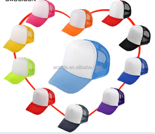 Best selling custom colorful half mesh custom trucker cap manufucturer