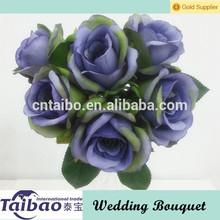 ramo de flores artificiales de la boda para la decoración de flores