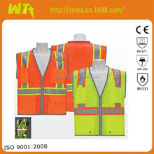 high visibility reflective working dress meets EN471