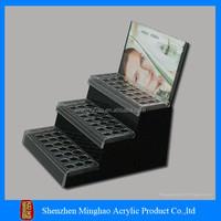 High quality acrylic make up display shelf