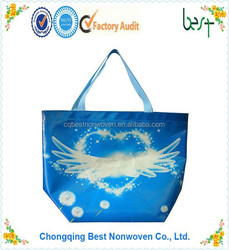 unique reusable tote bag laminated polypropylene shopping bag grocery bag