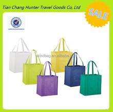 custom cheap standard size non-woven reusable polypropylene grocery shopping bag for grocery shopping trips