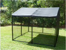 outdoor dog runs welded wire mesh fence