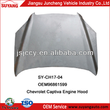 Jiangsu Suyang Car Body Parts Chevrolet Captiva Engine Hood For Sale