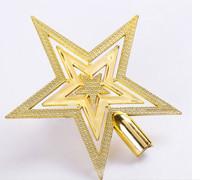 pentagon stars Christmas decorations Christmas tree top star