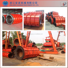 rcc concrete hume pipe machine for water supply and drainage