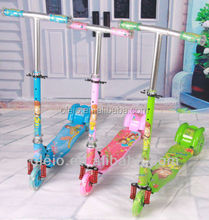 3 wheel cheap hot sale adjustable folding scooter motorcycles in guangzhou china