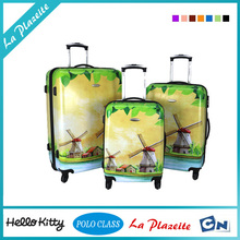 2015 ABS+PC good quality airport luggage trolley