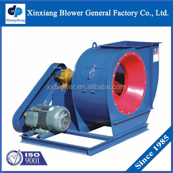 High Volume Fans Blowers : Belt driving cooling machine high volume centrifugal air