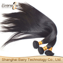 Eirene Hair Products Straight Top Quality Natural Color 100% Unprocessed Wholesale Virgin Remy Eurasian Hair